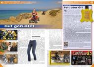 ATV&QUAD Special 2015 Ausrüstung • Zubehör • Tuning, Seite 42-45, Marktübersicht Ausrüstung & Bekleidung: Gut gerüstet; Lederpflege: Fett oder Öl?
