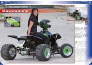 ATV&QUAD Special 2015 Ausrüstung • Zubehör • Tuning, Seite 60-63, Tuning: Kawasaki KFX 400 'Kawasanne', Poster