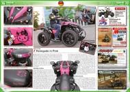 ATV&QUAD Special 2015 Ausrüstung • Zubehör • Tuning, Seite 76-77, Szene Deutschland PLZ 3; Fast Toys: Renegade in Pink