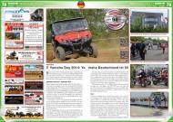 ATV&QUAD Special 2015 Ausrüstung • Zubehör • Tuning, Seite 78-79, Szene Deutschland PLZ 3/4; Yamaha Day 2014: Yamaha Deutschland ist 50