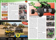 ATV&QUAD Special 2015 Ausrüstung • Zubehör • Tuning, Seite 92-93, Szene Deutschland PLZ 9; Bader Quadsport: YFM 700 SE als Pracht-Rappen; Rabenbauer Kompressor KFX: Da bewegt sich was!