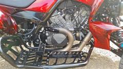 Exeet V990R: ausgestattet mit dem LC8-Triebwerk einer KTM Superduke 990 mit zwei in V-Form angeordneten Zylindern
