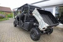 Yamaha Viking 6 für Deutschland: Kippbare Ladefläche mit knapp 300 kg Nutzlast