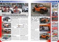 ATV&QUAD Magazin 2014/11-12, Seite 24-25, Präsentation Wenckstern Mini Hot Rod: Fahrspaß pur; Quadix Vierzylinder: Buggy 1100