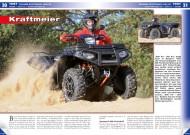 ATV&QUAD Magazin 2014/11-12, Seite 30-35, Test Polaris Sportsman XP 1000: Kraftmeier