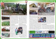 ATV&QUAD Magazin 2014/11-12, Seite 80-81, Szene Österreich; Fischer Agrar: Christbaumzucht mit ATVs und Quads; Hasi Moto: Der Rallye-Spezialist