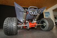 Exeet 670R: seit 2012 in Kleinserie produzierter Edel-Rappen mit dem 600 Kubik Vierzylinder-Triebwerk der Yamaha 600 Fazer