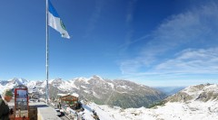 Quadtour auf den Großglockner: Kaiserwetter über der Edelweiß-Spitze auf der 6. Quadomania im Sommer 2012