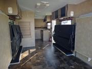 Amerikanische Wohnwagen mit Garage: Platz für die Werkstatt