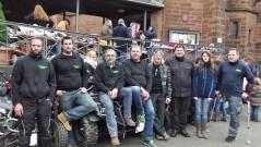 Obdachlosen Aktion 2014: Gemeinsam haben die Quadfreunde Loreley vielen Menschen geholfen