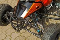 E.-ATV 1190 Adventure, Fahrwerk: speziell für E.-ATV entwickelte TFX-Stoßdämpfer