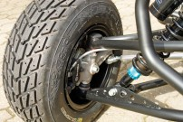 E.-ATV 1190 Adventure: keine Experimente bei den Brembo-Bremsen, doch das mit ABS und Combined Braking Funktion