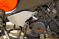 E.-ATV 1190 Adventure: KTM V2-Triebwerk mit 1.195 Kubik und einer Leistung von satten 150 PS