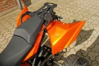 E.-ATV 1190 Adventure: Sitzbank mit Heizung für Pilot und Sozia, Federbein einstellbar auf Fahrweise und Beladung
