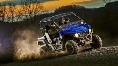 Yamaha Wolverine R: kräftige Bremsen und Motorbremse, die beim Gas-Wegnehmen eingreift