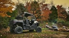 Yamaha Wolverine R: Ladefläche für Nutzlasten bis zu 136 kg, Anhänge-Zuglast von 680 kg