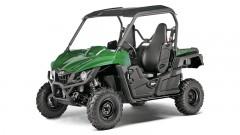Yamaha Wolverine R in 'Solid Green': Die Federelemente bieten sogar eine differenzierte Justierung der Druckstufen-Dämpfungseigenschaften bei langsamen und schnellen Bewegungen