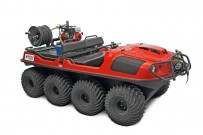 Argo 8x8 für Rettungseinsätze: DieDönges GmbH & Co. KG aus Remscheid hat den Argo 8x8 in sein Programm