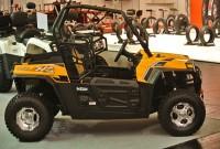 Für 2015 bietet Karcher zwei Hisun UTV 250 Modelle: das UTV 250 EFI Sport gibt´s in der Farbe Gelb
