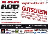 Bürgin Ausstellung 2015: Gutschein mit tollem Angebot, mit dem sich bei Reparatur-Aufträgen 50 Euro sparen lassen