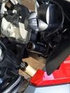 Baas bike parts BA15 Adapter: Anschluss von Zubehör mit großem Zigarettenstecker an die kleine DIN-Bordsteckdose, die bei Bikes und Quads üblich ist
