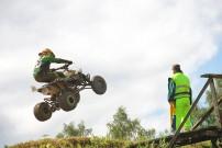 Nachwuchs Star Boje Lorenzen: Sprung mit geliehener KTM in Malente