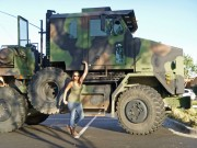 SwissConnection.us Monster Offroad: 20 Tonnen Leergewicht, 8x8 Allradantrieb, 500 Diesel PS und ein vollautomatisches Getriebe