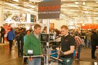 Messe IMOT 2015 in München: Premiere des Motorrad- und Quad-Navigationssystems Becker Mamba.4; Bild: Gerald O. Andersson