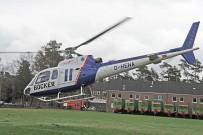 Forest Spring 2015: im Hubschrauber kann das Gelände des Fursten Forest oben erforscht werden