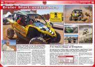 ATV&QUAD Magazin 2016/03-04, Seite 98-101, Sport; Tuareg Rallye 2016: Erster Start, erster Sieg