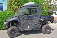 DFK Protector Cab und CargoBox: sind die Neuheiten von DFK im UTV-Kabinen-Bereich; die Yamaha Viking ist zudem mit dem Kühlsystem DFKool ausgestattet
