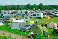 Rekord beim Travel Event 2017: reges Treiben in der Camping Area