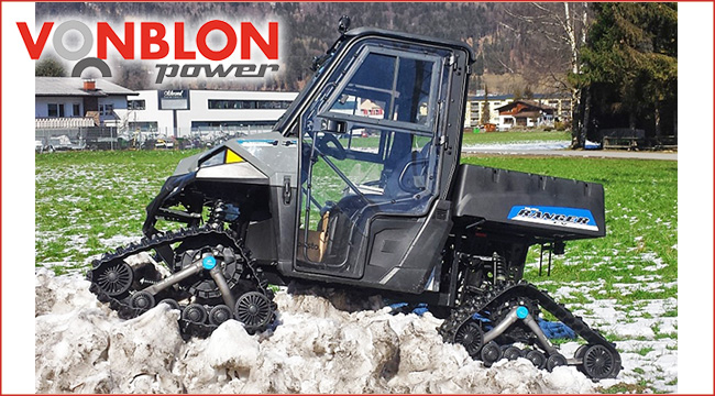 vonblon polaris ranger ev mit lifepo4 akkus atv quad. Black Bedroom Furniture Sets. Home Design Ideas