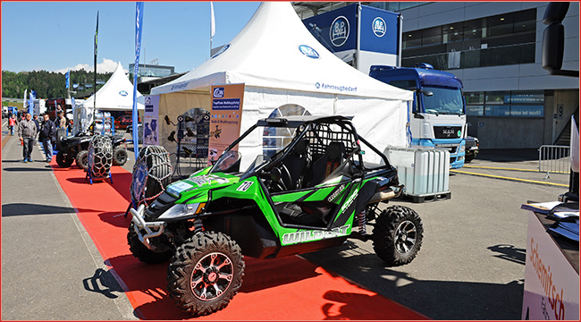 arctic cat truck gp mit atvs und quads atv quad magazin. Black Bedroom Furniture Sets. Home Design Ideas