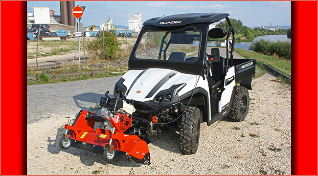 quadix trooper 800 diesel utv zubeh r atv quad magazin. Black Bedroom Furniture Sets. Home Design Ideas