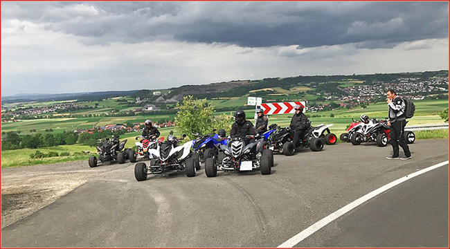 privates quadtreffen mitte hessen quad tour atv quad. Black Bedroom Furniture Sets. Home Design Ideas