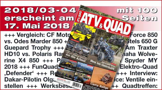 ATV&QUAD Magazin 2018/03-04