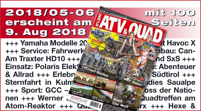 ATV&QUAD Magazin 2018/05-06
