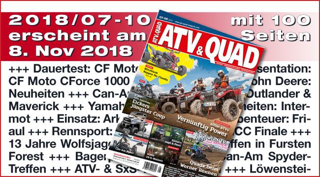 ATV&QUAD Magazin 2018/07-10