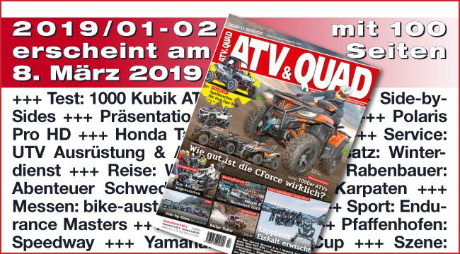 ATV&QUAD Magazin 2019/01-02