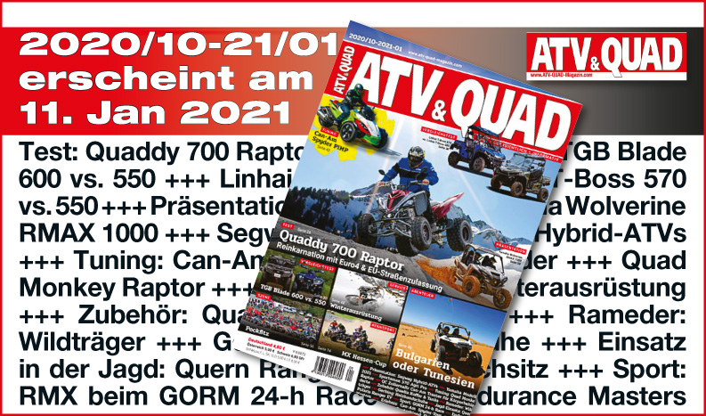ATV&QUAD Magazin 2020/10 - 2021/01